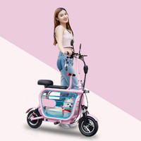 Motorcycle Lithium Battery Electric Motorcycles 48V 580W Mini Citycoco Electric Scooter E bike