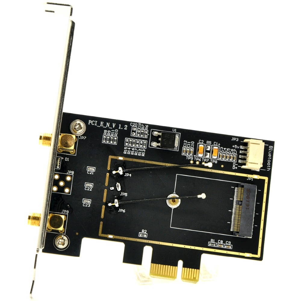 M 2 Pcie Adapter Pakistan Adapter Nikon To Sony E Mount Wifi Adapter Gone From Laptop Adapter Adapter Meaning: M2 NGFF Mini PCi E To PCi E Wireless WiFi Converter