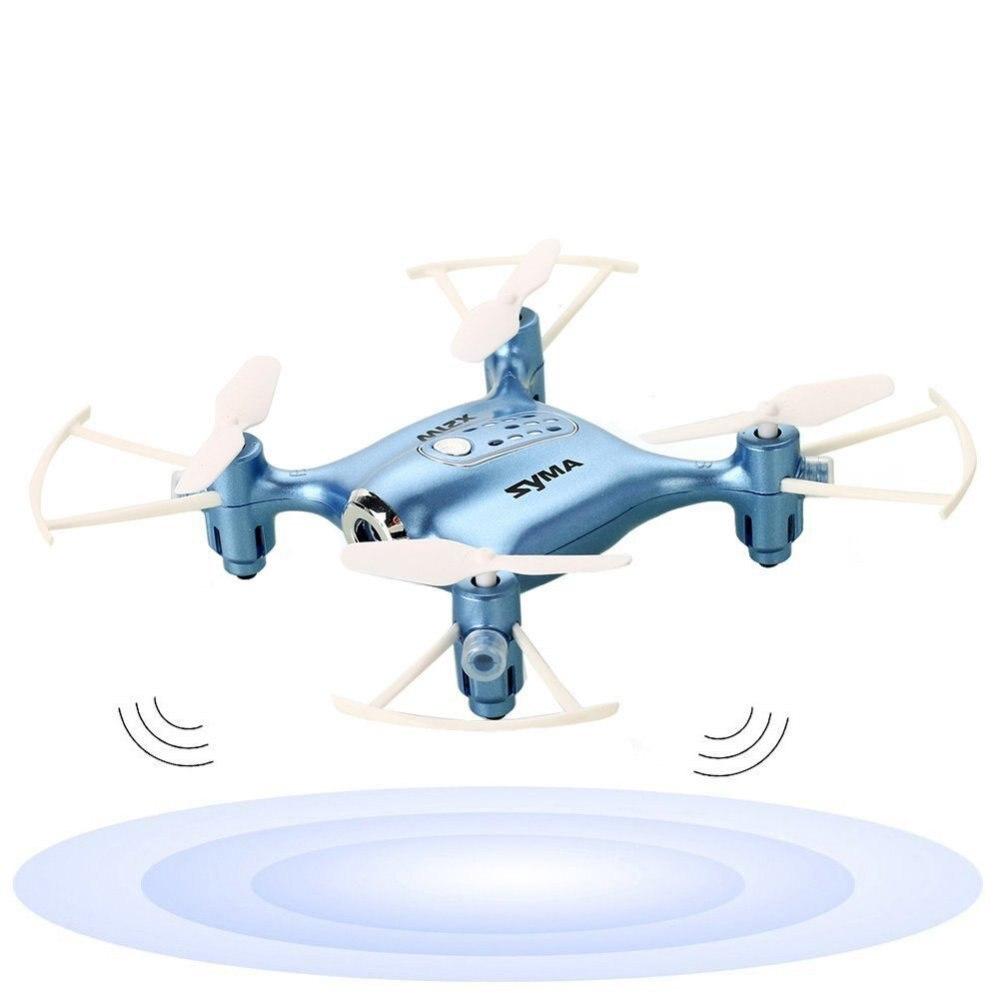 Syma X21W Mini Drone with Camera HD WIFI FPV Real-time Altitude Hold Dron 2.4GHz 4CH Remote Control RC Quadcoper Helicopter syma x21w mini drone with hd camera wifi fpv helicopter 2 4ghz 4ch 4aixs gyro altitude hold mode rc quadcopter mini drone