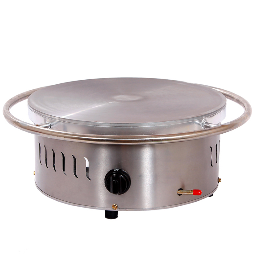 Single Head Commercial Pancake Machine / Electric Automatic Crepe Machine / Waffle Stick Maker Machine