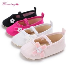 6 Styles Baby Cute Shoes First Walker Toddler Kids Girls Cotton Infant