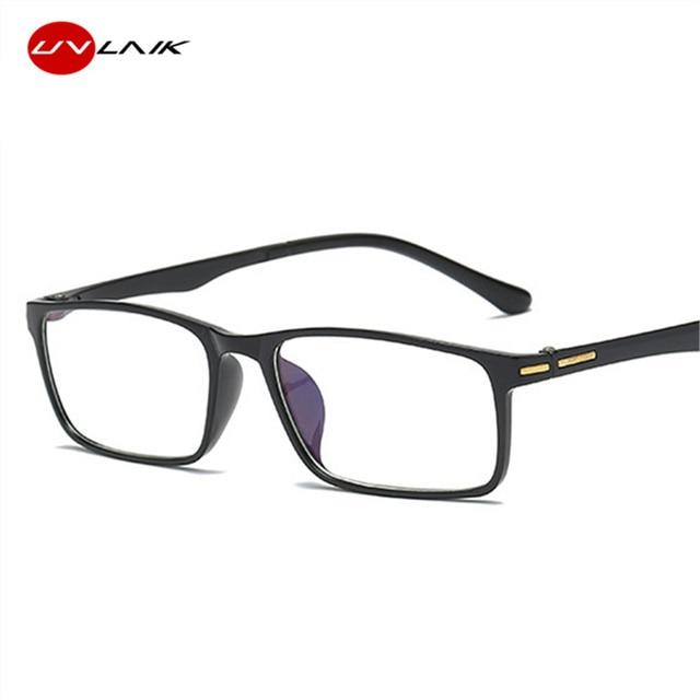 UVLAIK Reading Glasses Women Men TR90 Transparent Spectacles Resin Reader Glasses Spring Hinge Hyperopia Prescription Eyeglasses