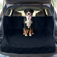 цена на Waterproof Trunk Mat Dog Pets Cargo Liner Cover Non Slip Car Trunk Protector Back Seat Cover Pockets for SUV Pet Barrier