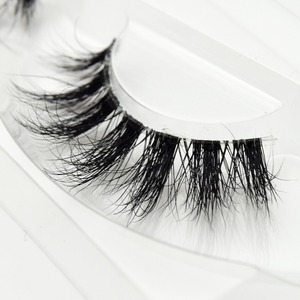 Image 3 - Visofree Mink Lashes 3D Mink Eyelashes Invisible Band Natural Black Mink False Eyelash Full Strip cilios posticos Reusable F41
