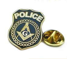 cheap engraving badge with pin hot sales custom made metal gold