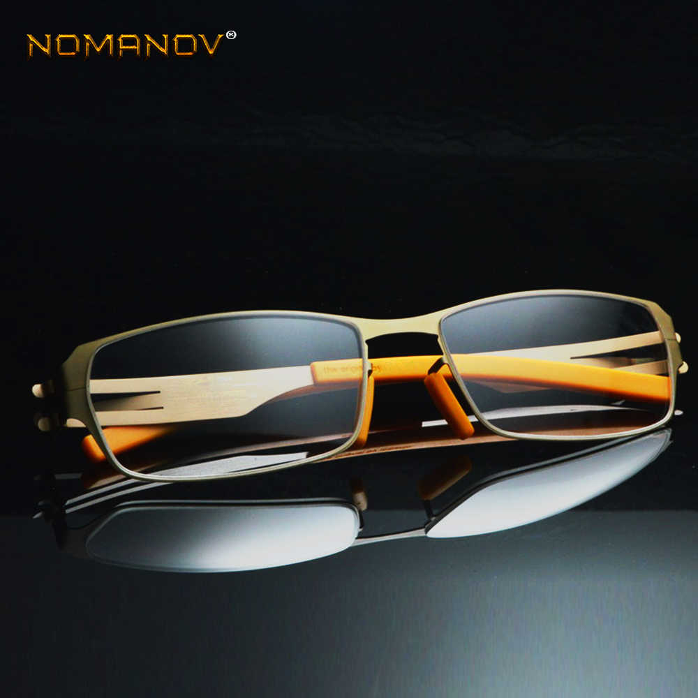 fb969bf1ce No Solder Joint Without Screw Ultra light Frame Custom Made Optical  Prescription Myopia Glasses Photochromic -