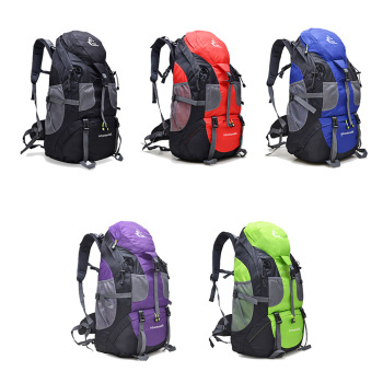 New 50L & 60L Outdoor Backpack Camping Climbing Bag Waterproof Mountaineering Hiking Backpacks Molle Sport Bag Climbing Rucksack 6