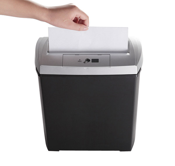 Bonsaii DocShred s170 8 Sheets A4 size Strip Cut Paper Shredder Home Office Use 3.4 Gal with Overheat and Overload Protecting
