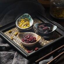 Блюдо для закусок творческая личность стиль специальная пищевая тарелка керамика Yuanbao блюдо закуски соус блюдо