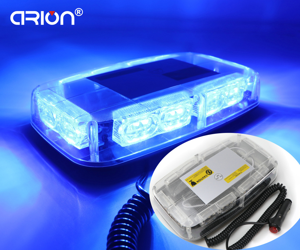 DC12V High power Blue 36W 36 LED Car Truck Strobe flash beacon Warning light Magnetic Emergency