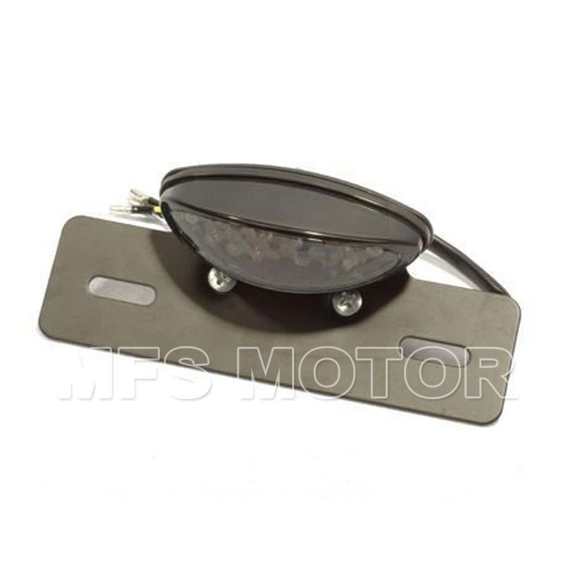 New Motorcycle Part License Plate Light for Harley Honda Kawasaki for BMW Yamaha For Suz ...