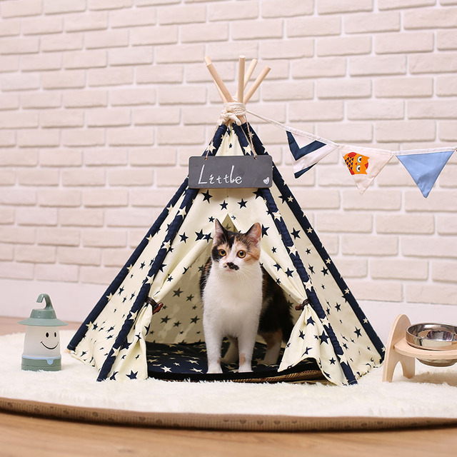 2017 Washable And Folding Portable Pet Bed Dog Kennel Dog Cat House Pet Tents Cute Dog Bed Pet Bed Warm Soft Dogs Kennel
