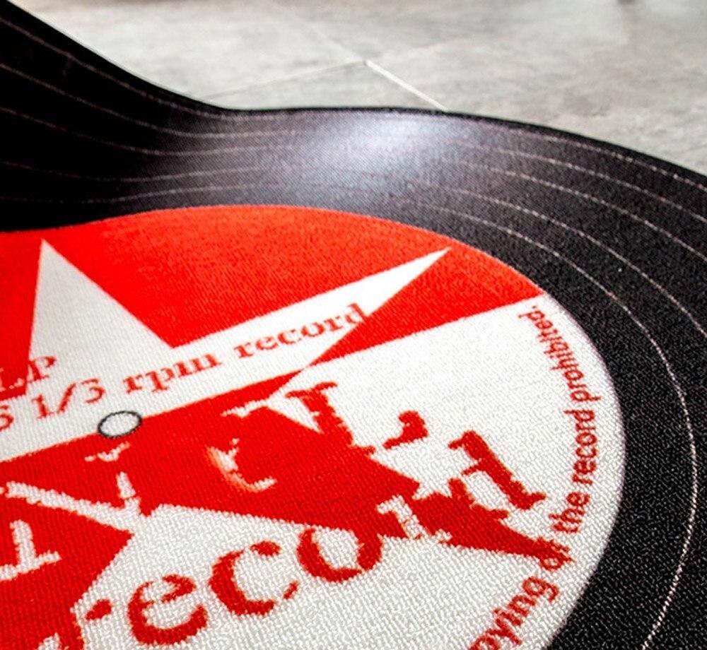 Boy's Vintage Style LP Shape Carpet