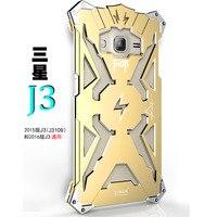 Металлический корпус для Samsung Galaxy J3 j3109 чехол для телефона Simon Тор сплав Алюминий протектор Поддержка противоударный с идеальной кривой