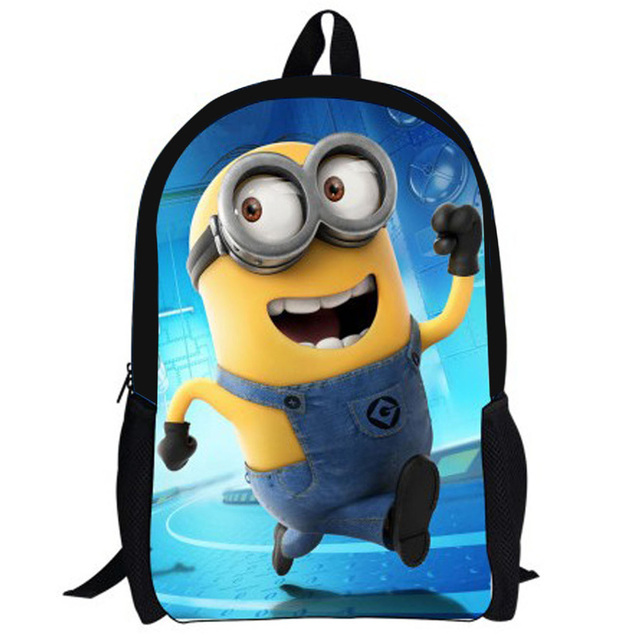 b1c63b4d6dcf Cute Cartoon Despicable Me Minion Backpack for Kids Fashion Child  Kindergarten School Bags Baby Boys Small Minions Mochila Bag
