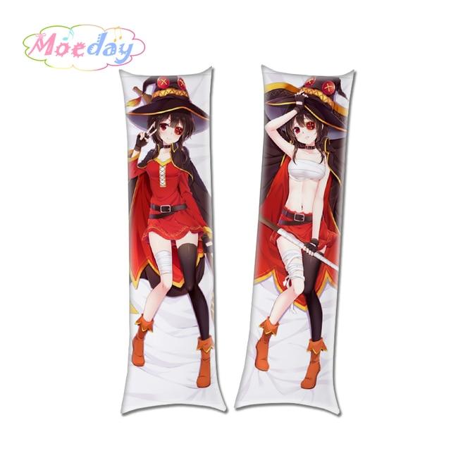 KonoSuba:God's Blessing on This Wonderful World! Megumin Yunyun Customized Sexy Hugging Body Pillow Cover 3