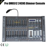 Stage Light 24 Channel DMX 512 Dimming Console 24CH 48 Total Playback Faders Dimmer Controller With LED Lamp Connect