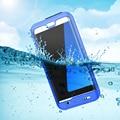 Floveme impermeable para samsung iphone 6 6 s 7 plus case agua fundas a prueba para galaxy s7/s7 edge cubierta capa de buceo al aire libre
