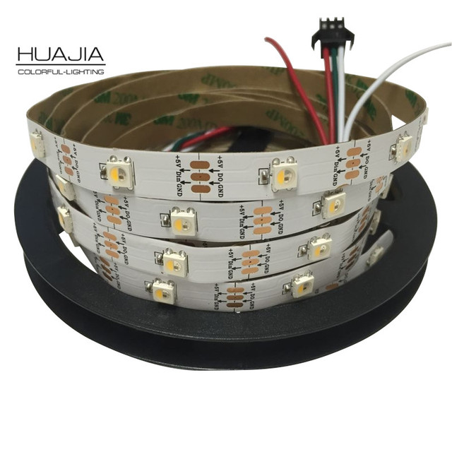 2m 5m SK6812 RGBW (similar ws2812b)30/60/144 leds/m Individual Addressable LedSk6812 Flexible Pixel Strip IP30/IP65/IP67 DC5V