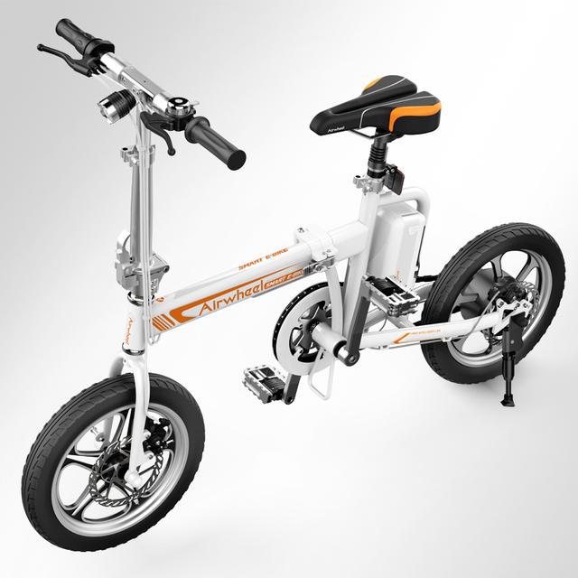 original airwheel r5 elektrische faltbare smart bike tragbare e bike mit st nder. Black Bedroom Furniture Sets. Home Design Ideas