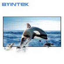 BYINTEK 72 дюйма 84 дюйма 100 дюйма 120 дюйма 130 дюйма отражающая ткань проектор проекционный экран повышение яркости