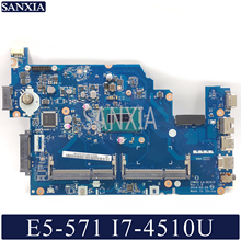 KEFU LA-B161P Laptop motherboard for Acer E5-571 E5-571P original mainboard I7-4510U/4500U