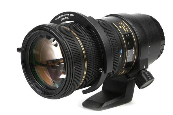 SUNWAYFOTO DRH-65 Telehpoto поддержка объектива Регулируемая фокусировка объектива Фокусировочный Рычаг Ручка фильтра зума 63-71 мм объектив