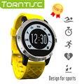 Torntisc f69 esporte smart watch suporte ao modo de ip68 à prova d' água de natação profissional inteligente heart rate monitor para ios android