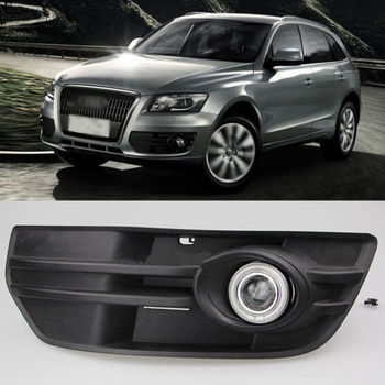 Ownsun Super COB Fog Light Angel Eye Cover Bumper Projector Lens for Audi Q5 2010-2012