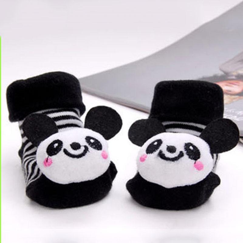Newborn Cotton Cute Animal Baby Socks Cartoon Slipper Cute Anti Slip Cotton Toddler Baby Socks Shoes 0-18Month