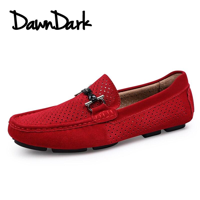56f725a363 Masculinos red Porco Verão Tênis Couro Camurça Black Moda Calçados Sapatos  Casuais Homens De blue Sobre Mocassins Marca Luxo Homem Deslizar q6zHwF4