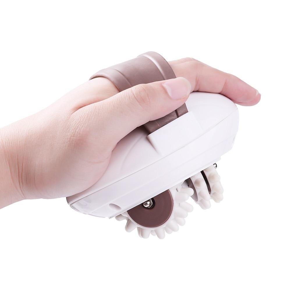 3D Электрический массажер для тела, ролик для стрижки, антицеллюлитный массажер, устройство для похудения, сжигатель жира, спа машина, инструмент для похудения Массажный ролик из ЭВА      АлиЭкспресс - ТОП-10 массажеров