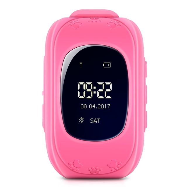 Zeepin Q50 Smart Telephone Watch Kids GPS SOS Call Locator Track Anti-Lost Baby Safe Monitor OLED LCD for iOS Android Russian 2