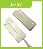 BS-37 Wired Magnetic Window Door Contacts Recessed Switch Alarm Sensor For Security Alarm System