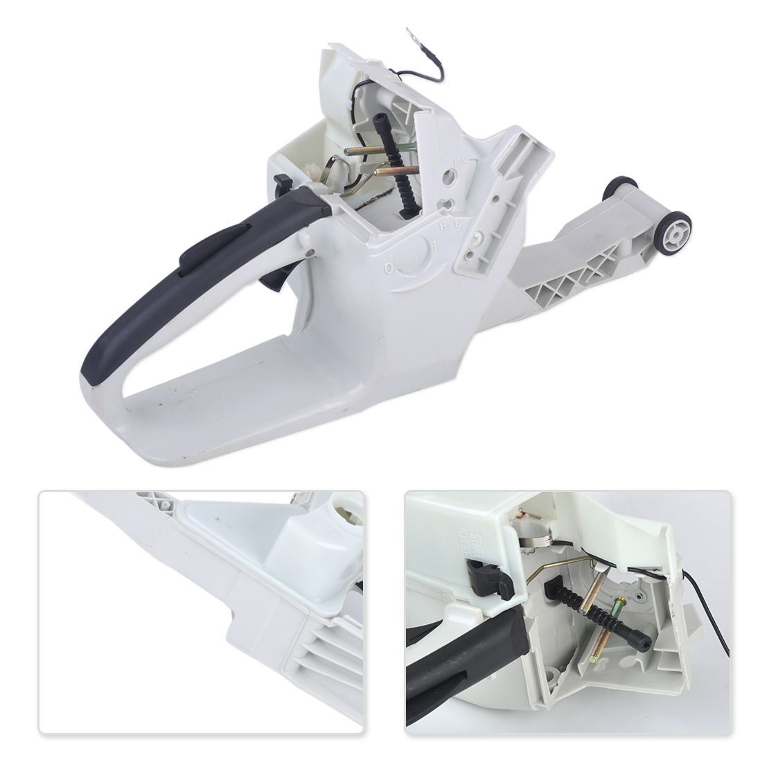 цена LETAOSK High Quality Gas Fuel Tank Rear Handle Fit for Stihl 038 038AV 038 Magnum MS380 1119 350 0852 Chainsaw