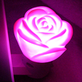 50pcs Factory price Novelty mushroom sensor /Rose Flower Fairy led Night Light Lamp Great Gift bedroom Decoration energy saving