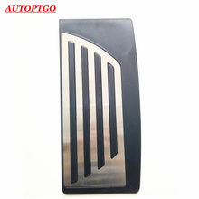 1PC STAINLESS STEEL CAR FOOTREST FOOT REST PEDAL PAD ACCESSORIES FOR ALFA ROMEO GIULIA STELVIO PEDALS WITH 3M FAST SHIPPING