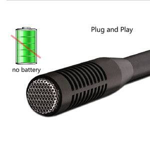 Image 2 - BUB MA G28 6m Wired HD Plug And Play Interview Microphone Mobile Phone Video Recording Large Condenser Microphone Waterproof