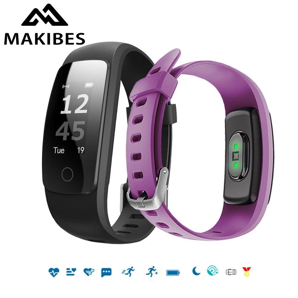 imágenes para Makibes ID107 Más HR Banda Bluetooth 4.0 Pulsera Inteligente de Ritmo Cardíaco de Contestación de Llamadas Inteligente Sleep Monitor de múltiples deportes 5 pantallas