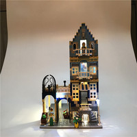 Led Light Up Kit For Lego Building City Street 10190 Market Street Factory Toy Compatible 15007