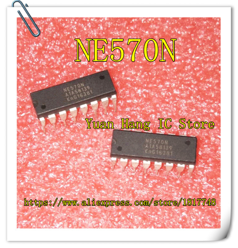 10PCS/LOT NE570N NE570 DIP-16 NEW