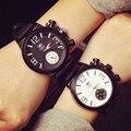 Nueva Llegada de la Alta Calidad QF Marca Gran Dial Hombres Reloj Militar Relojes de Moda Deportes de Pulsera de Cuarzo Regalo OP001