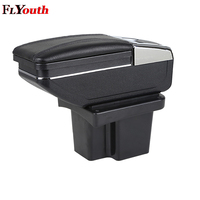Car Armrest Box Car Styling Central Store Content Box With Cup Holder Interior Accessories For Kia Cerato Forte k3 2009 2016