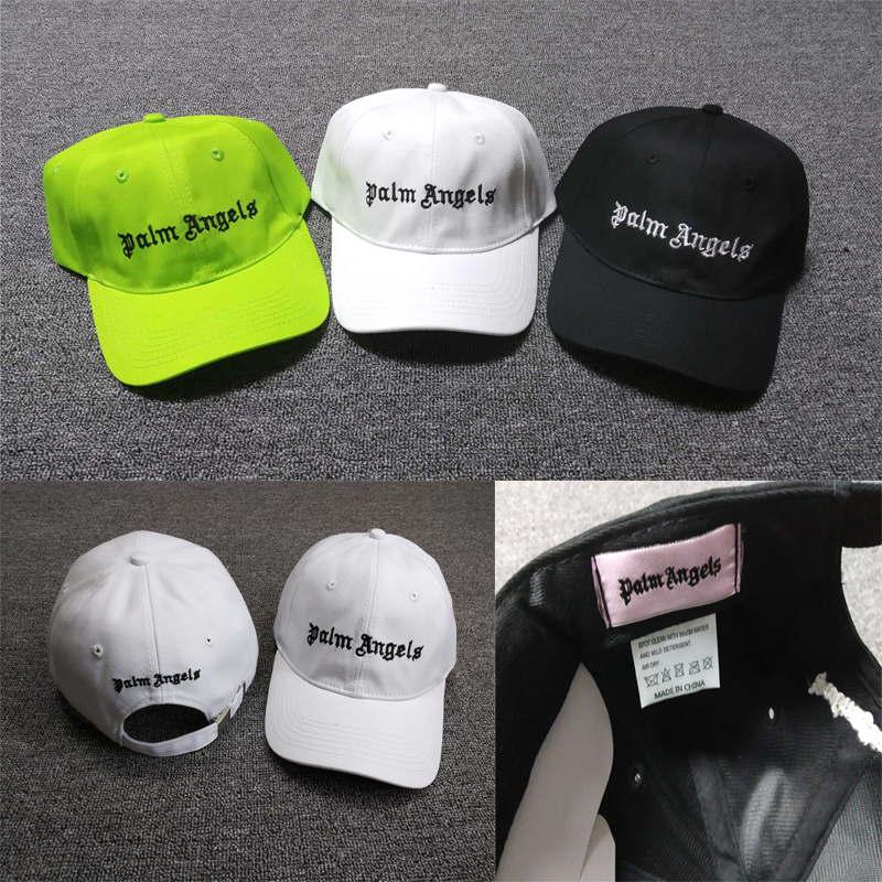 19SS Palm Angels   Caps   Adjustable Embroidery Logo High Quality Hip Hop Streetwear Palm Angels   Baseball     Caps   Men Women