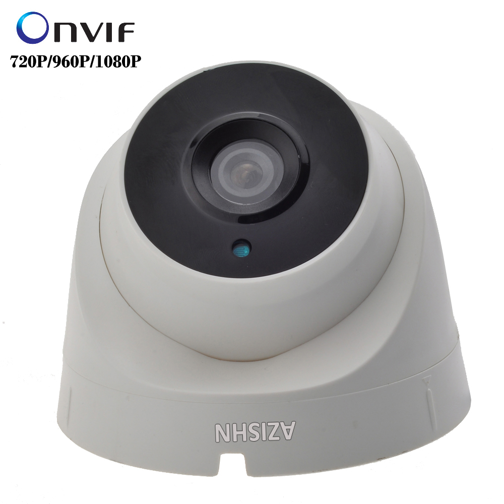 IP Camera 720P/960P/1080P  3PCS ARRAY LEDS Indoor Dome  Security CCTV Surveillance  ONVIF 2.0 P2P IR Cut Megapixel Lens new waterproof ip camera 720p cctv security dome camera video capture surveillance hd onvif cctv infrared ir camera outdoor