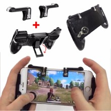 Shooter PUBG Controller 4 in 1 Gamepad Trigger Fire Button Aim Key Button Smartphone Mobile Games L1R1 Shooter Gamepads Joystick