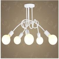 Nordic individual Korean ceiling lamps, modern minimalist study bedroom balcony dining room LED desk lamp