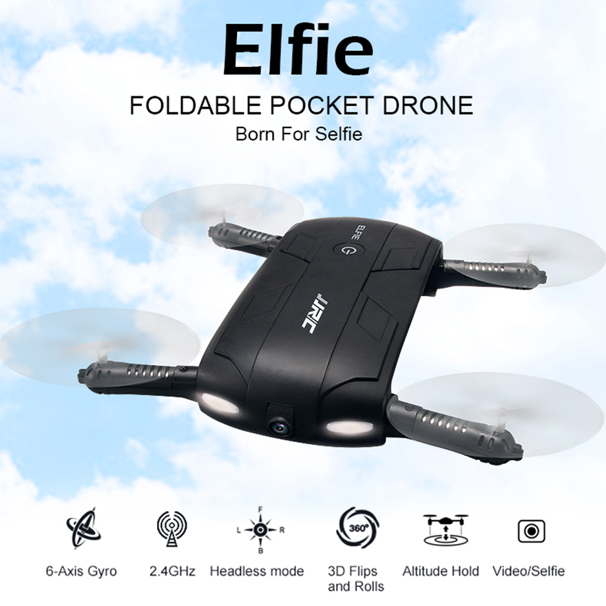 Newest JJRC H37 Altitude Hold FPV Quadcopter RC Drone with WiFi Camera Headless Mode RTF WIFI