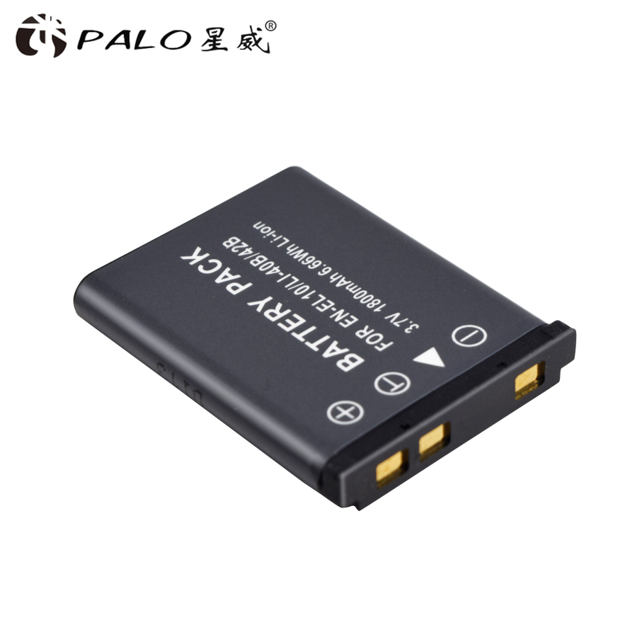 2018 new 1pcs camera  EL10 40B battery 3.7V 1800mah li-ion battery  for OLYMPUS U700 U710 FE230 FE340 FE290 FE360