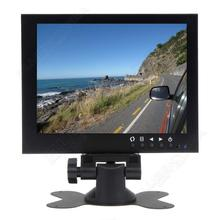 Free shipping!7″ HD TFT LCD Metal Housing Monitor Video Audio For PC Home Security CCTV DVR